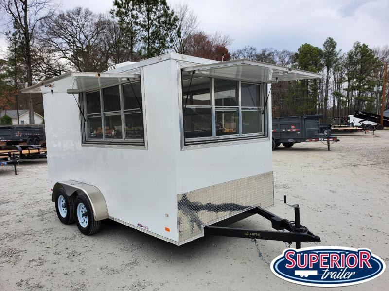 2019 Covered Wagon Trailers 7x14 Concession Trailer Vending / Concession Trailer