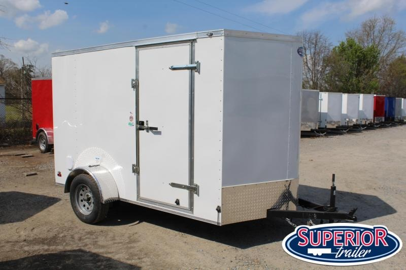 2020 Continental Cargo 6X10 w/ Ramp Door