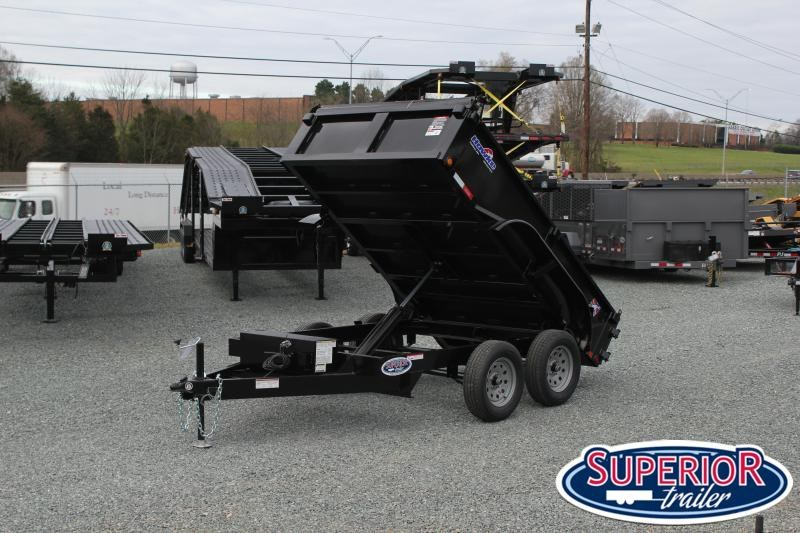2020 Hawke 6X10 7K Dump w/ Tarp