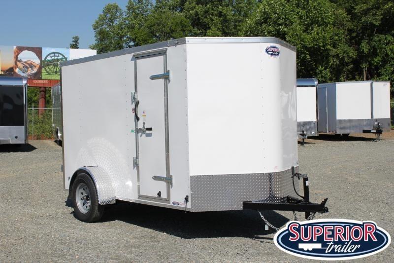 2020 Continental Cargo 6x10 Special w/ Double Rear Door