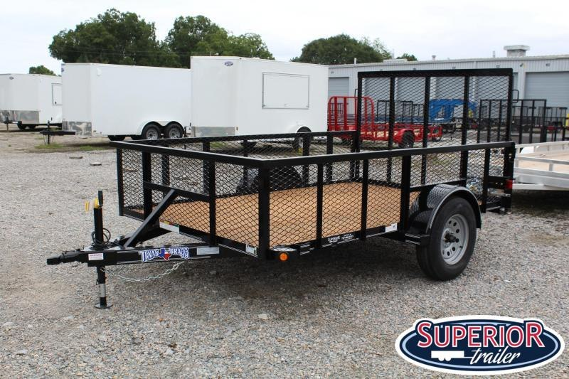 2019 Texas Bragg 6x10ST w/ 2ft Expanded Sides and Gate