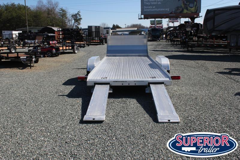 Pre Owned 2014 Featherlite 3110 20ft 10K Aluminum Car Trailer Car / Racing Trailer