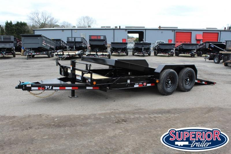 2020 PJ Trailers 18ft T6 14K Tilt