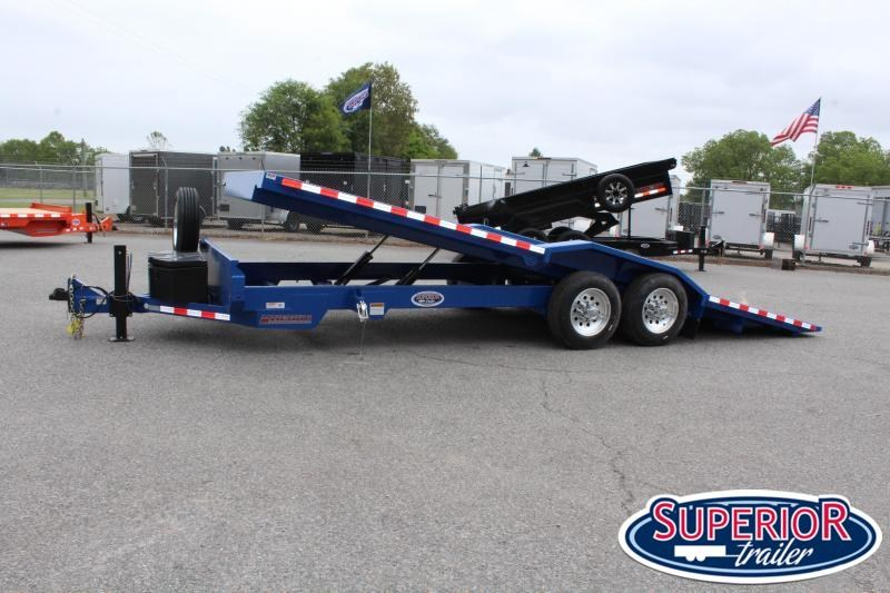 2020 Midsota TBWB-22 Tilt Bed Wide Body Trailer