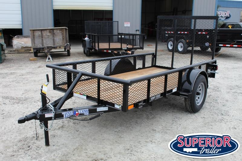 2019 Texas Bragg 5X10P w/ Expanded Sides & Gate