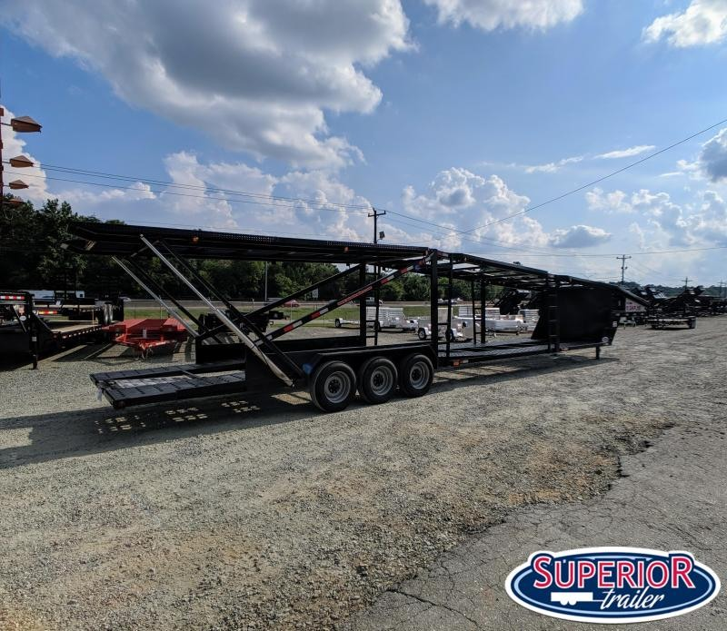 2019 Take 3 Trailers 5 CAR HD Car Trailer w/ Winch