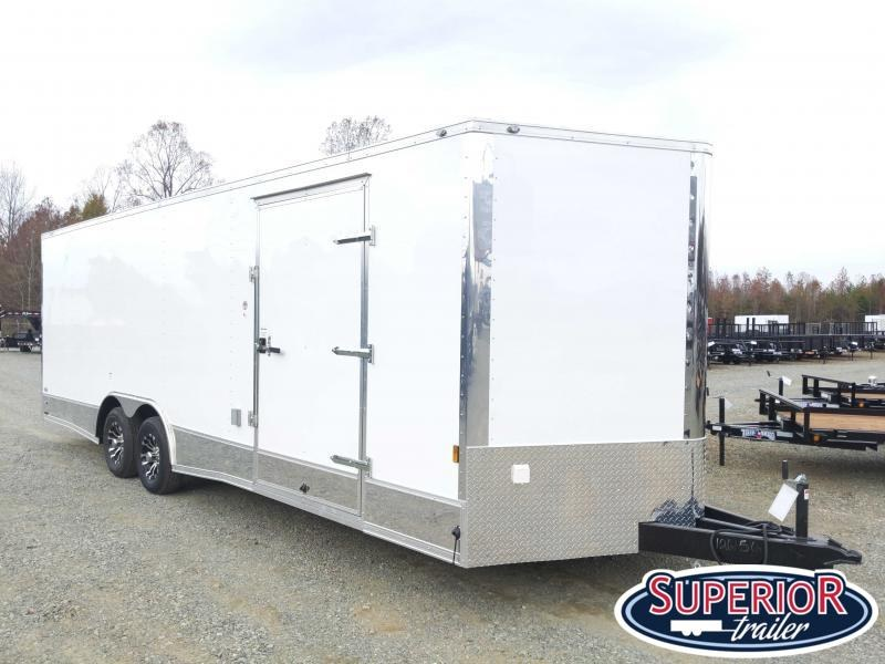 2019 Continental Cargo 8.5X24 10K  LOADED Car Trailer