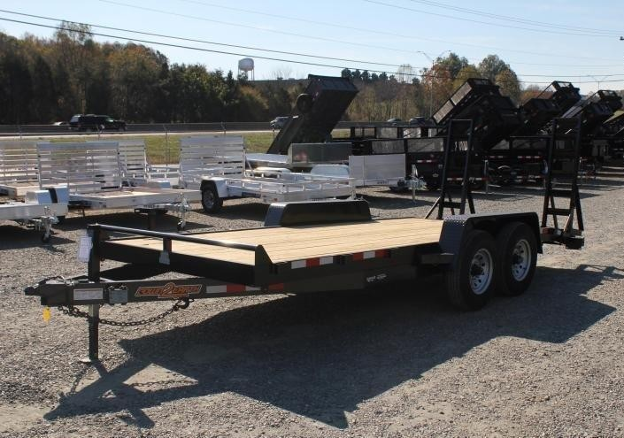 2020 Down 2 Earth 18ft 14K w/ Fold Up Ramps