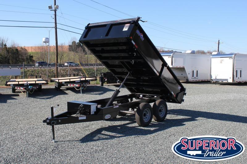 2020 6X12 10K Deck Over Dump w/ Tarp
