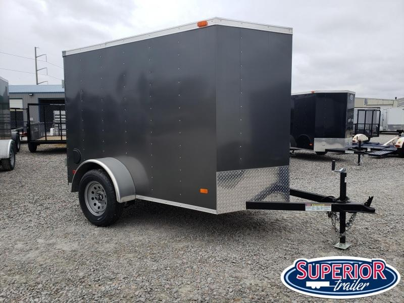 2019 Bravo Hero 5x8 w/ Extra Height &Single Rear Door