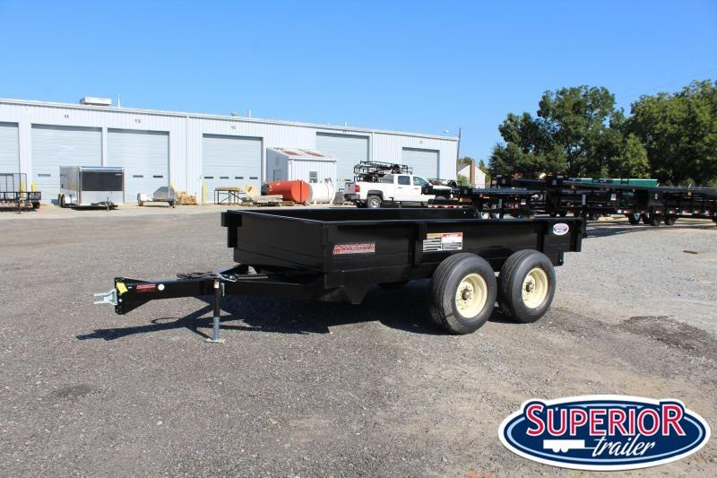 2020 Midsota 6x12 Off Road Dump Trailer