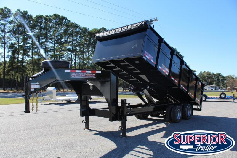 2020 Midsota HVO-20 8x20 Dump Trailer w/ 10K Axles