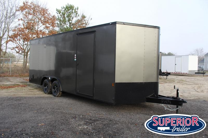 2021 Continental Cargo 8.5X20 7K Enclosed Cargo Trailer