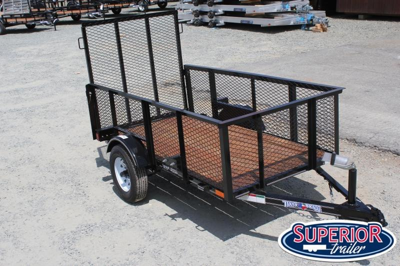 2019 Texas Bragg 4X8LB w/ 2ft Expanded Sides and Gate