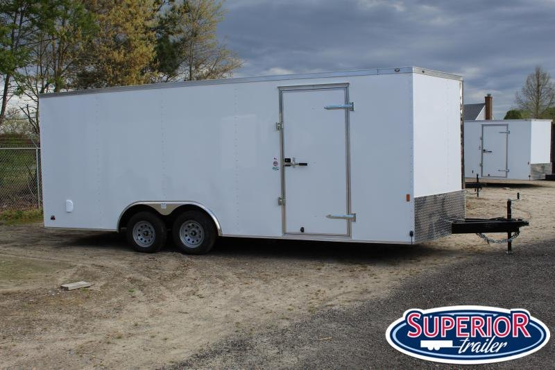 2021 Continental Cargo 8.5X20 10K Enclosed Cargo Trailer
