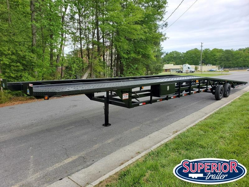 2020 Take 3 48' Ultra Low Pro Wedge 3 Car Trailer