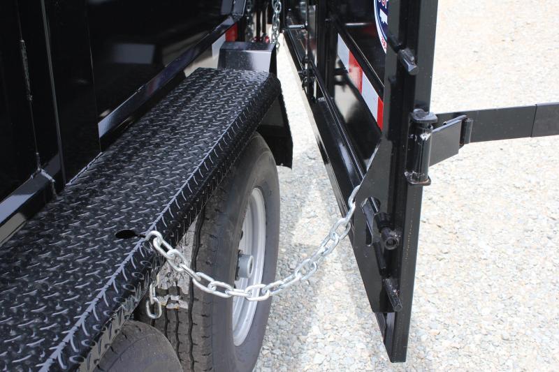 2019 Hawke 6X12 10K Dump w/ Spreader Gate Ramps and Tarp