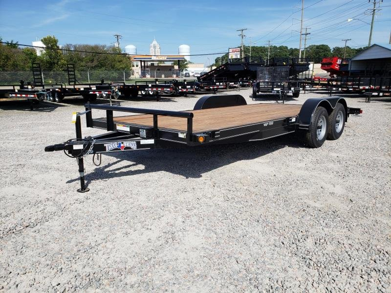 2019 Texas Bragg 16 + 2 HCH w/ Slide In Ramps