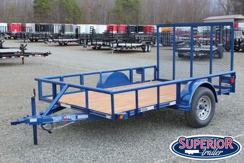 2019 Texas Bragg Trailers 6x10P w/ Gate