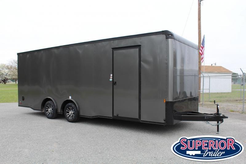 2021 Continental Cargo 8.5X24 10K w/ Ramp Door