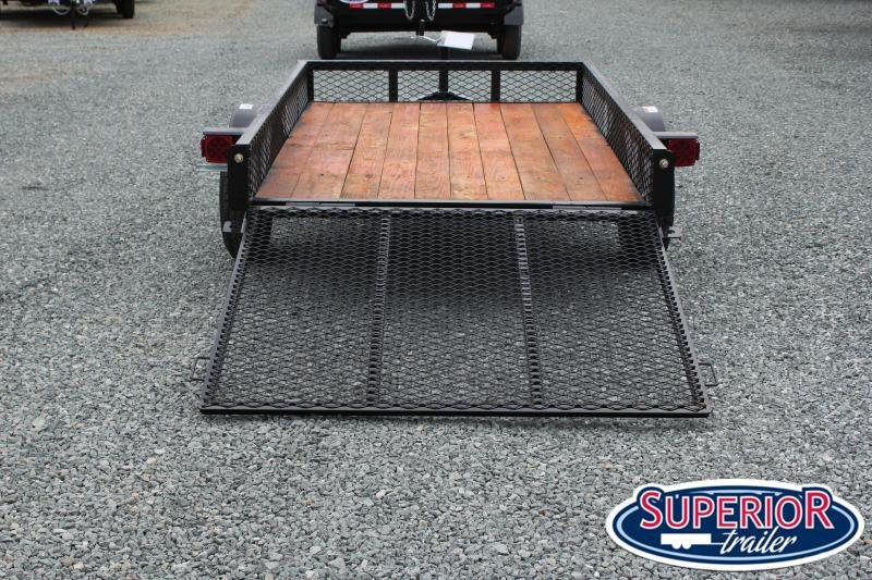 2020 Texas Bragg 5X8LB w/ Expanded Sides and Gate