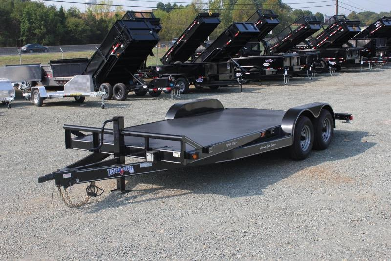 2019 Texas Bragg Trailers 18 CCC 10K Car Trailer
