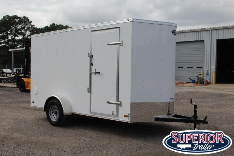 2020 Haulmark Passport 6x12 w/ Double Rear Doors