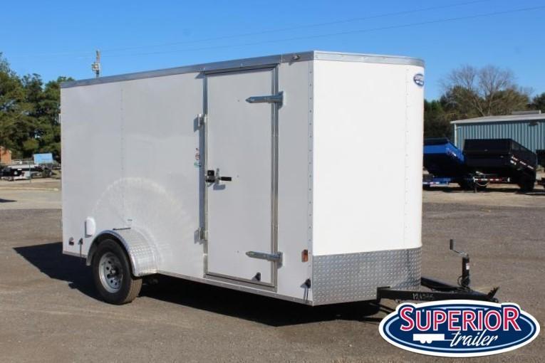 2020 Continental Cargo 6X12 w/ Barn Doors