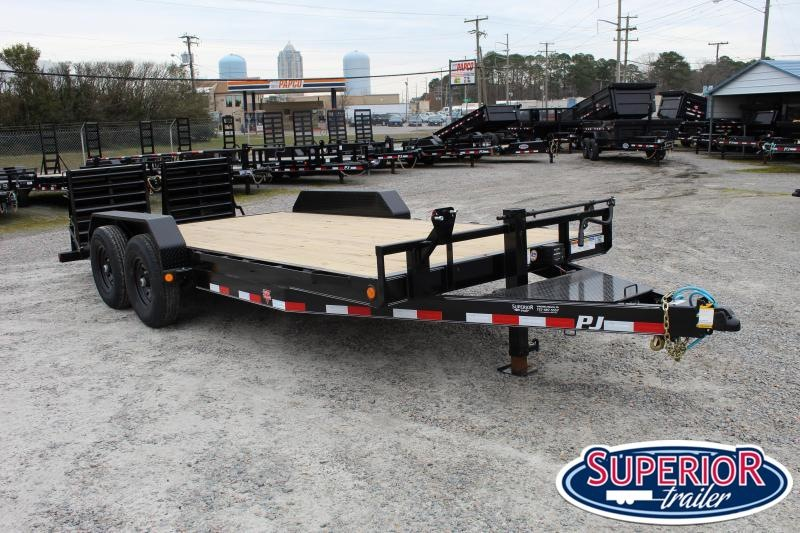 2020 PJ Trailers 18ft CC 14K w/ Monster Ramps
