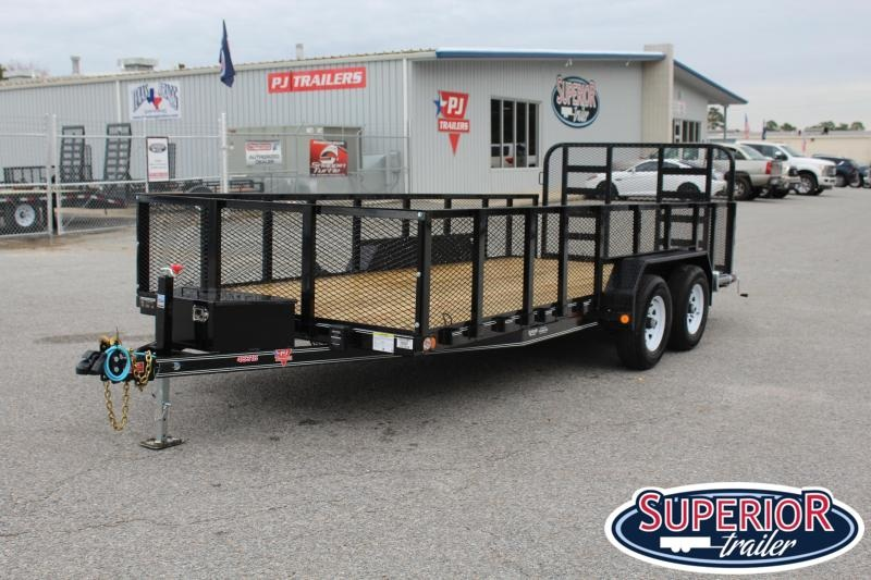 2020 PJ 18ft UL 10K w/ HD Fold Up Gate