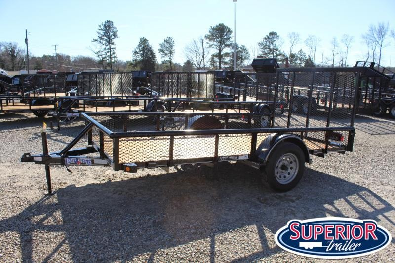 2019 Texas Bragg 6x12P w/ Expanded Sides & Gate