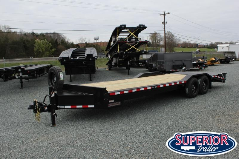 2020 Midsota STWB-24 Wide Body Equipment Trailer