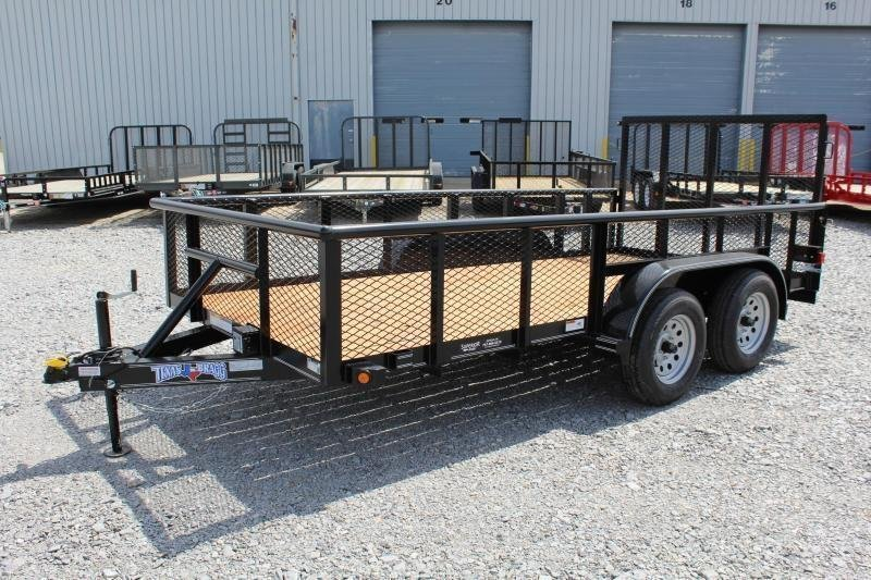 2019 Texas Bragg Trailers 14P w/ 2ft Expanded Sides