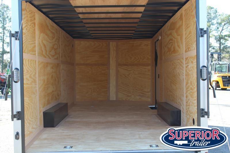 2021 Continental Cargo 8.5X20 10K w/ Ramp Door