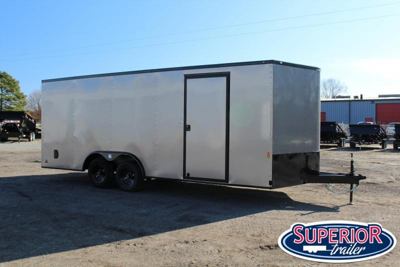 2021 Continental Cargo 8.5X20 10K w/ Ramp Door