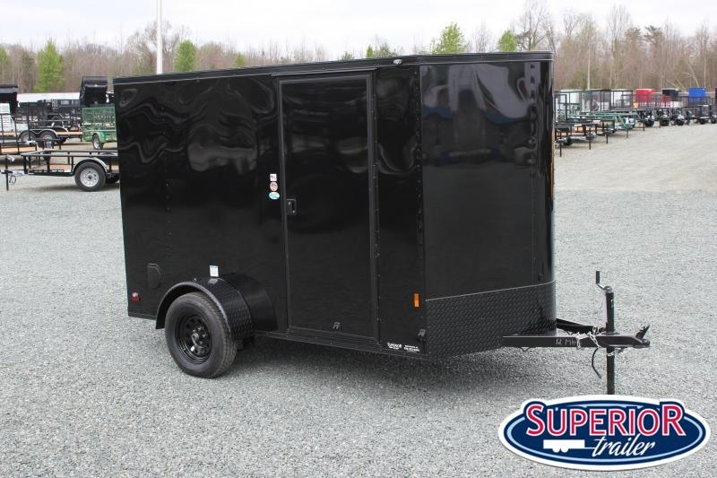 2021 Continental Cargo 6X10 w/ Blk Out Pkg and Ramp