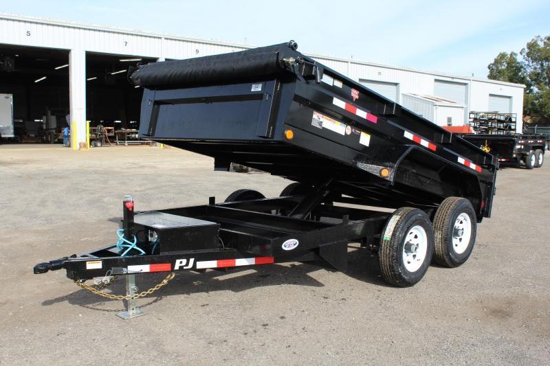 2020 PJ Trailers 6x12 D3 10K Dump Trailer w/ Ramps