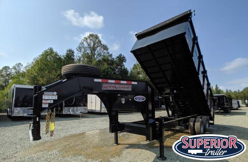 2020 Midsota HVO-20 8x20 25K Dump Trailer w/ 12K Axles