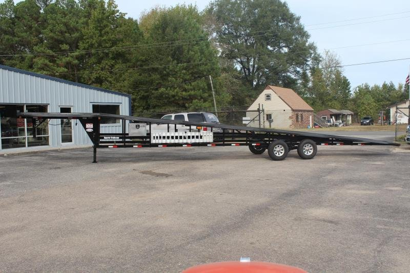 2019 Take 3 48ft Ultra Lite Gooseneck 3 Car Trailer
