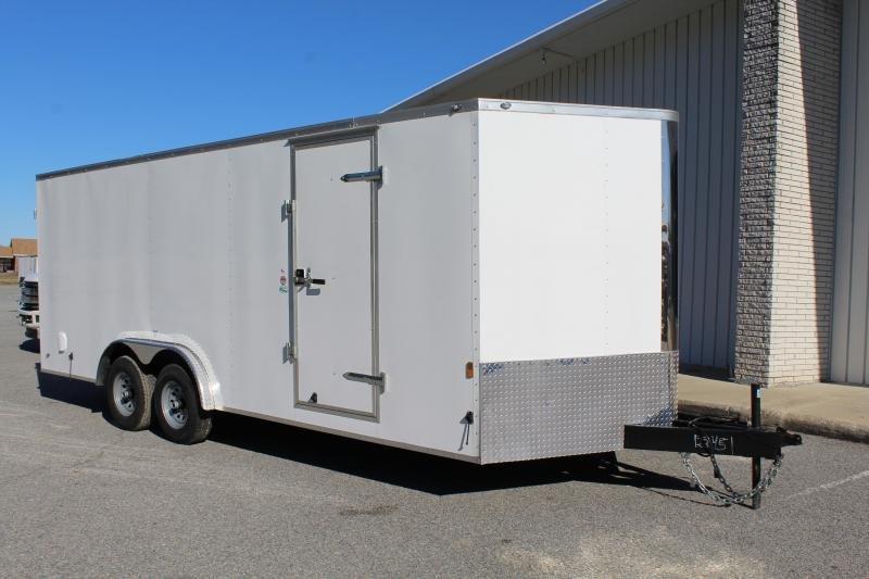 2019 Continental Cargo 8X20 10K Enclosed Trailer