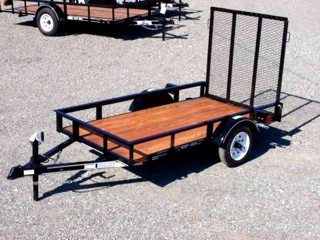 2018 Texas Bragg Trailers 4x8LB w/ Gate