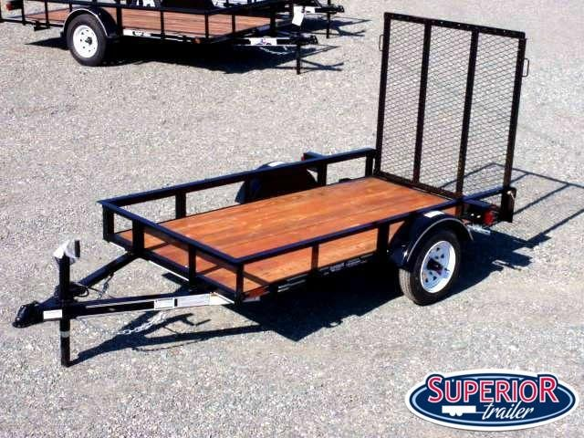 2018 Texas Bragg Trailers 4x8 LB w/ Gate
