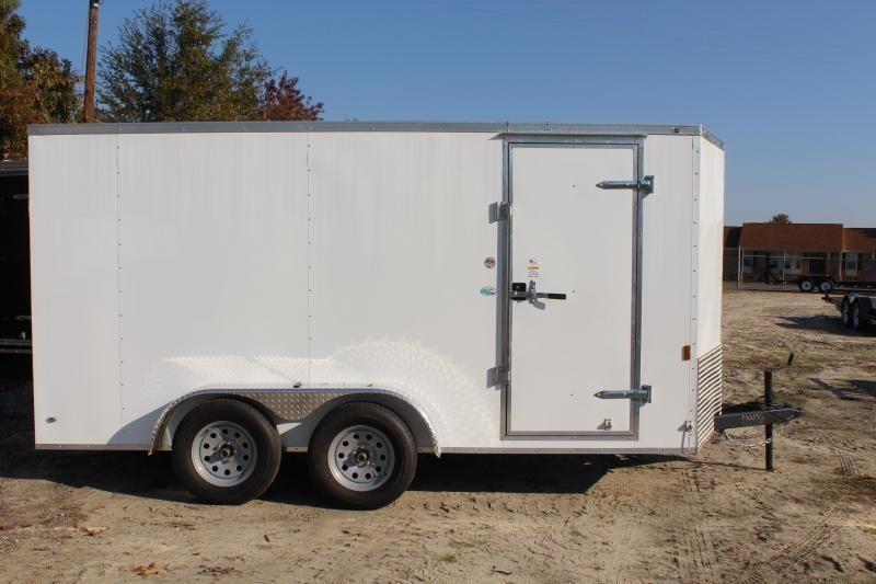 2020 Continental Cargo 7X14 w/ Ramp Door & Extra Height