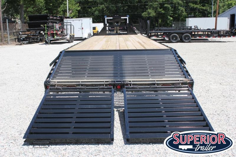 2019 PJ Trailers 36ft FD w/ 12K Axles and Monster Ramps