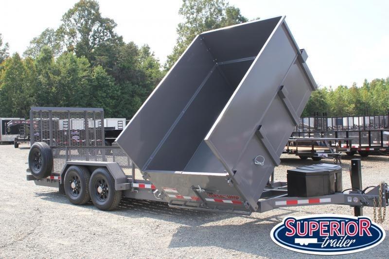 2019 Midsota 20ft 14K Equipment Side Dump Combo