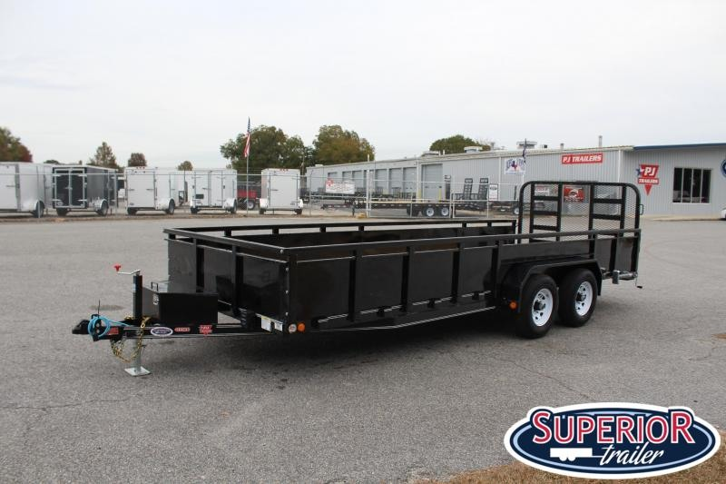 2020 PJ 20ft UL 10K w/ HD Fold Up Gate
