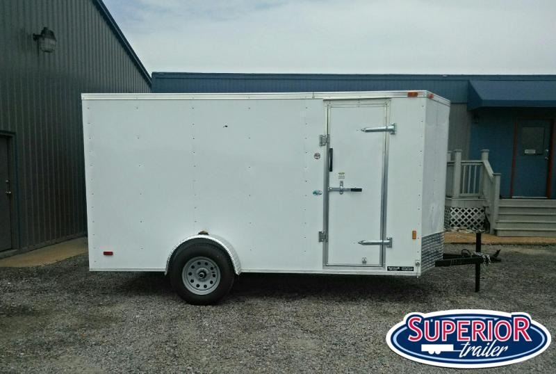 2021 Continental Cargo 6x12 Special w/ Double Rear Doors