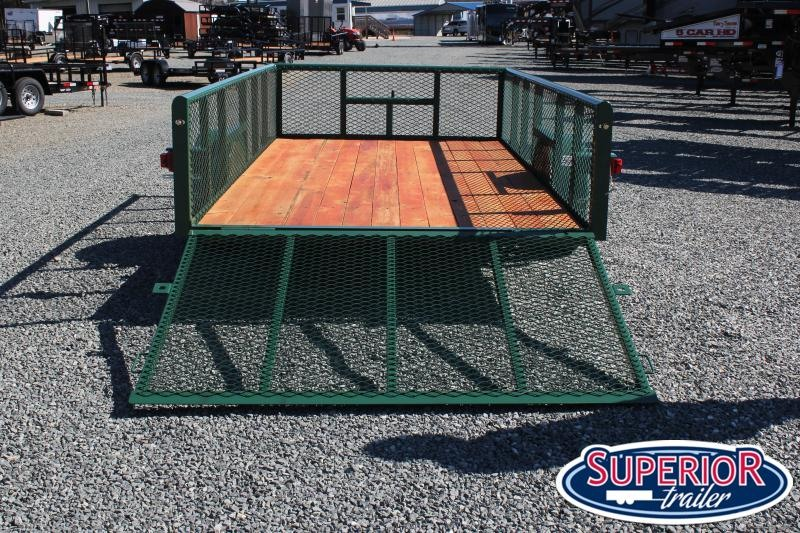 2020 Texas Bragg 6x12P w/ 2ft Expanded Sides and Gate