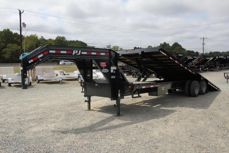 2020 PJ Trailers 28ft TD 25K Tandem Deckover Tilt