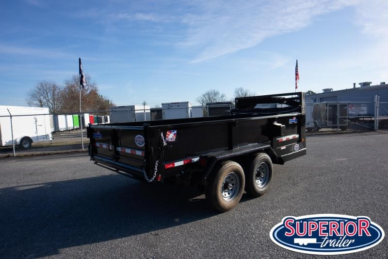 2020 Hawke 7x14 14K Dump w/ Spreader Gate Ramps and Tarp